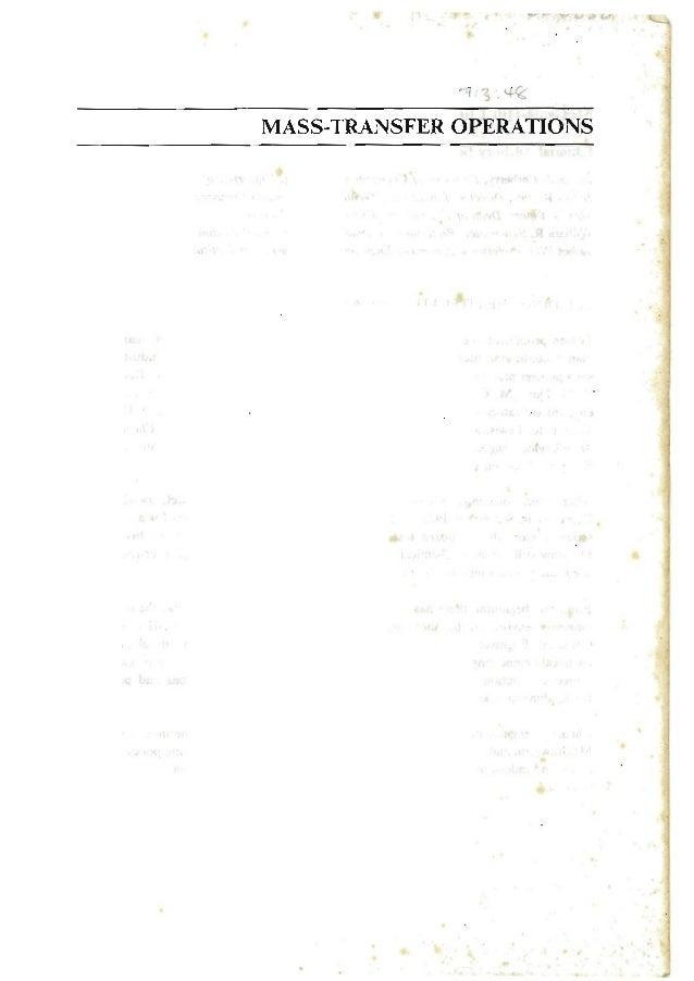 A mass transfer-operations-robert-treybal