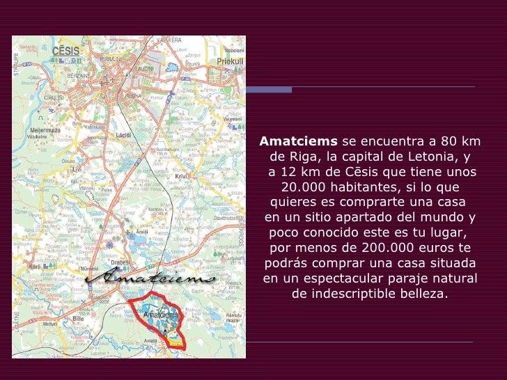 Amatciems Slide 3