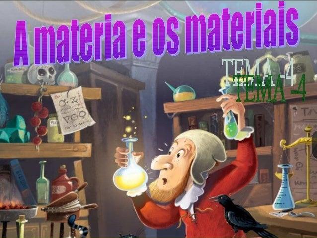 Que é a materia?Que é a materia? É todo aquilo que ten masa e volume, é dicir, todo o que ocupa un lugar no espazo.
