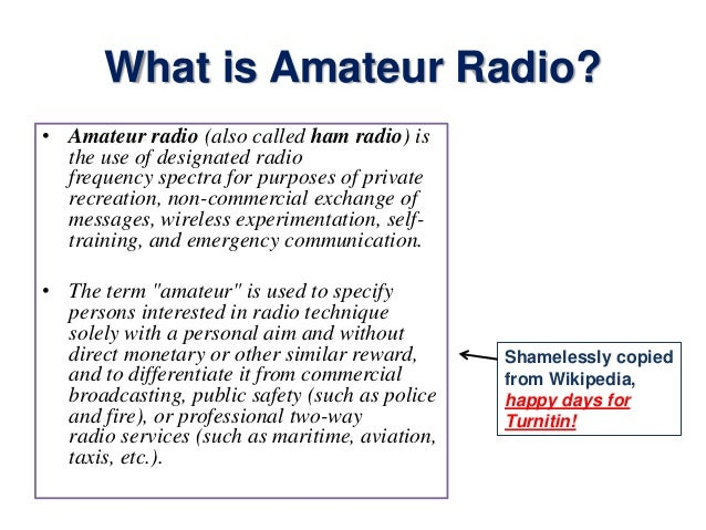 introduction to amateur radio video firstly