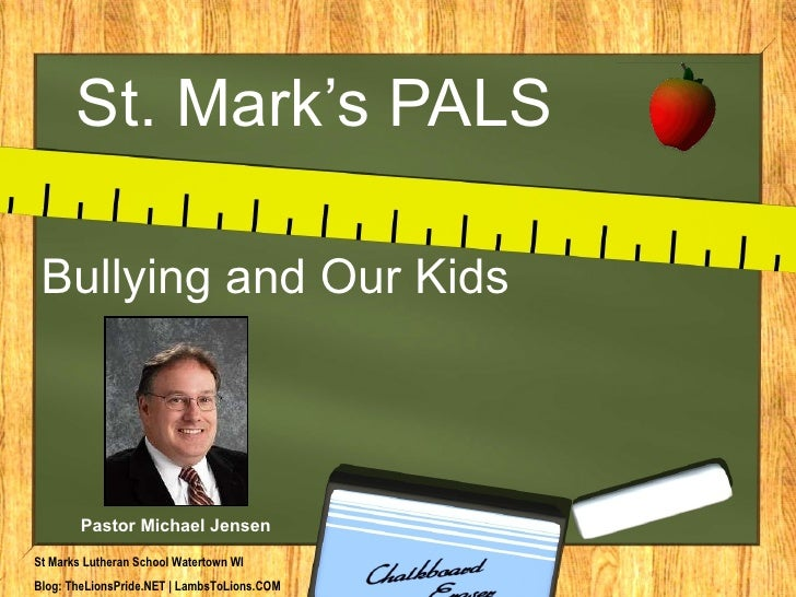 Bullying and deeply concerning matter