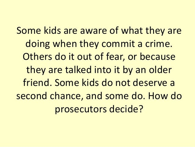 why shouldnt juveniles be tried as adults