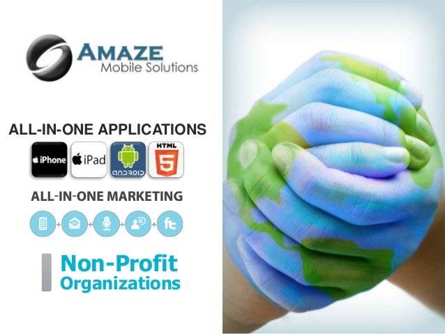ALL-IN-ONE APPLICATIONS      Non-Profit      Organizations
