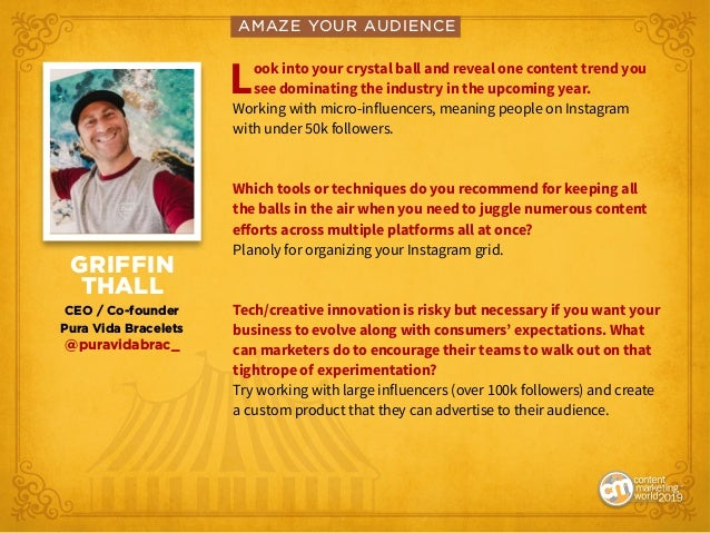 Amaze Your Audience: Find Your Showstopping Content Marketing Moment Slide 3