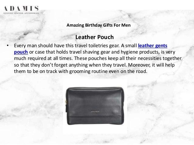 Amazing Birthday Gifts For Men 4