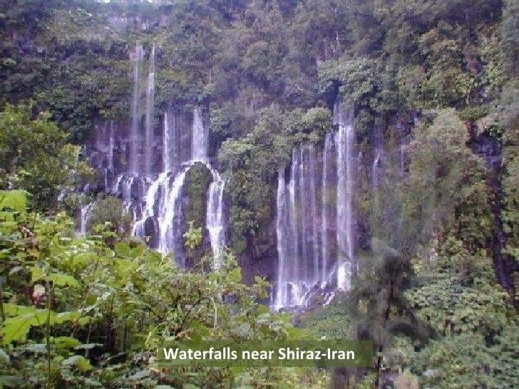 Waterfalls near Shiraz-Iran