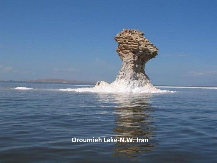 Oroumieh Lake-N.W. Iran