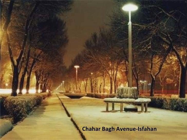 Chahar Bagh Avenue-Isfahan