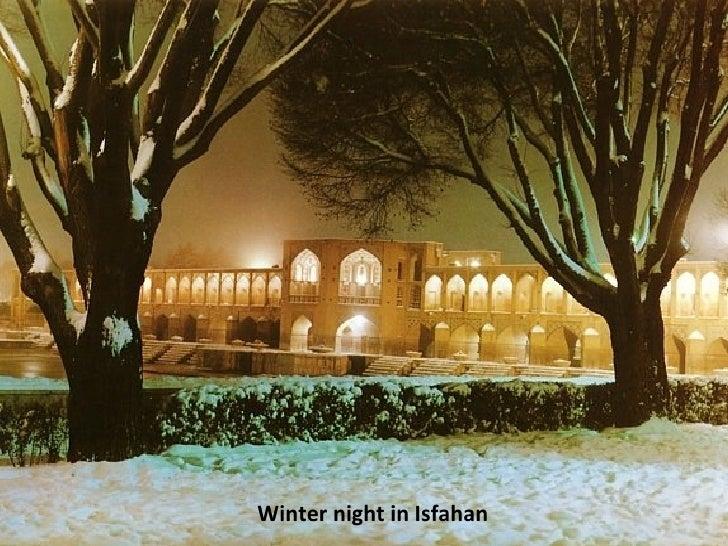 Winter night in Isfahan