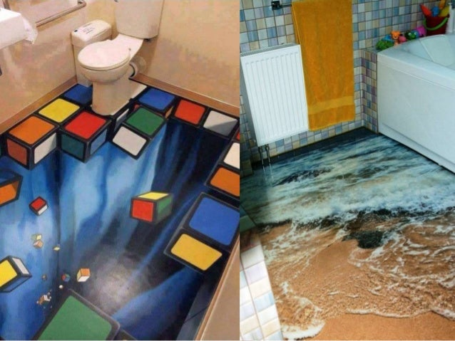 Amazing 3d floors how to turn your bathroom into an ocean