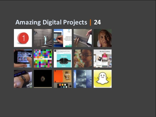Amazing Digital Projects | 24