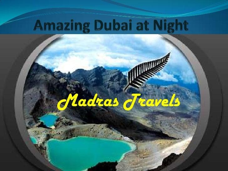 Madras Travels