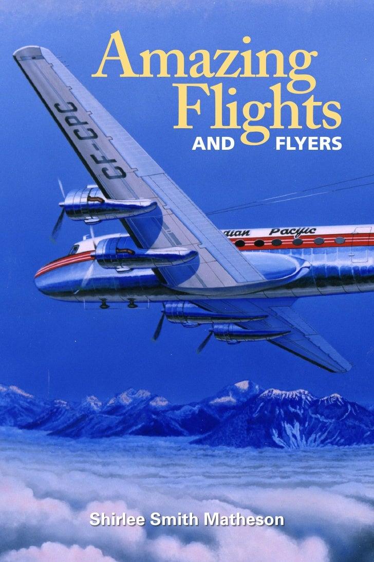 Amazing   Flights  AND      FLYERS     Shirlee Smith Matheson