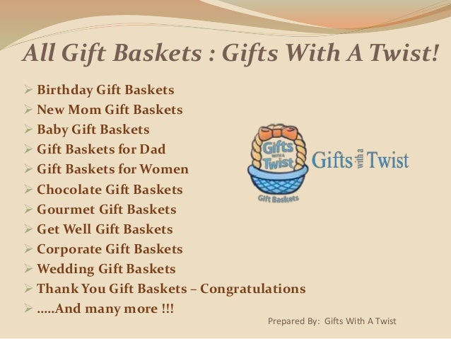 Amazing Gift Basket Ideas For Any Occasion Anyone