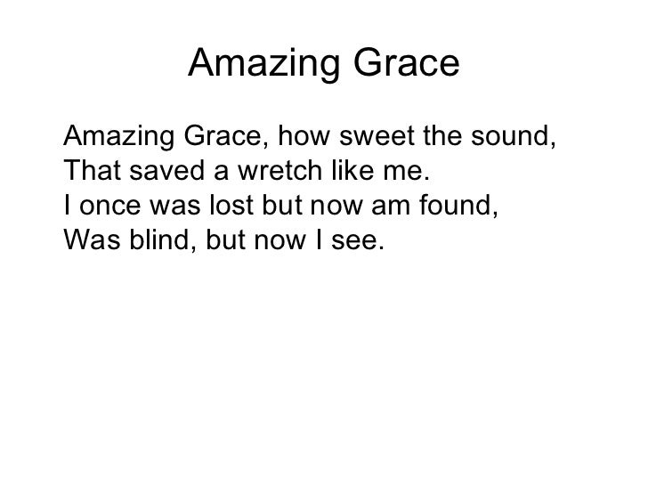 Amazing grace  classic