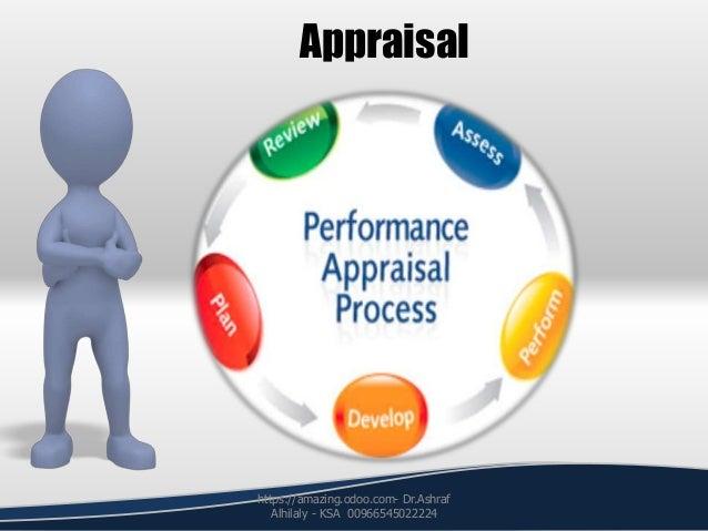 Appraisal https://amazing.odoo.com- Dr.Ashraf Alhilaly - KSA 00966545022224