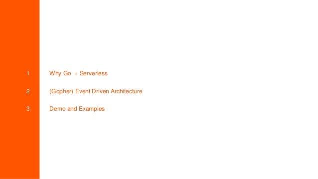 Amazingly Simple Serverless Go Slide 2