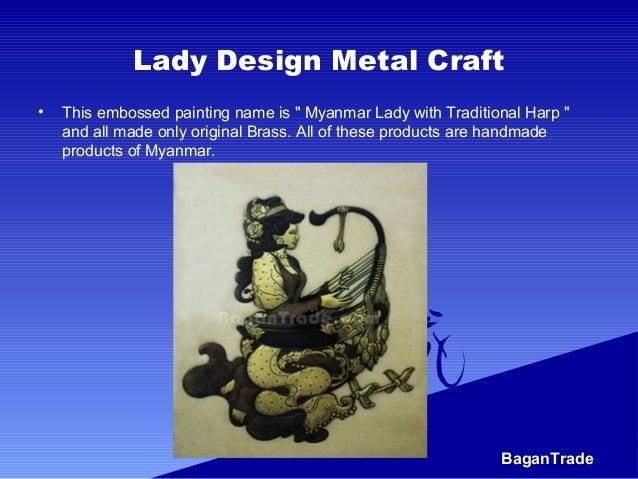 Amazing myanmar handicrafts Slide 2