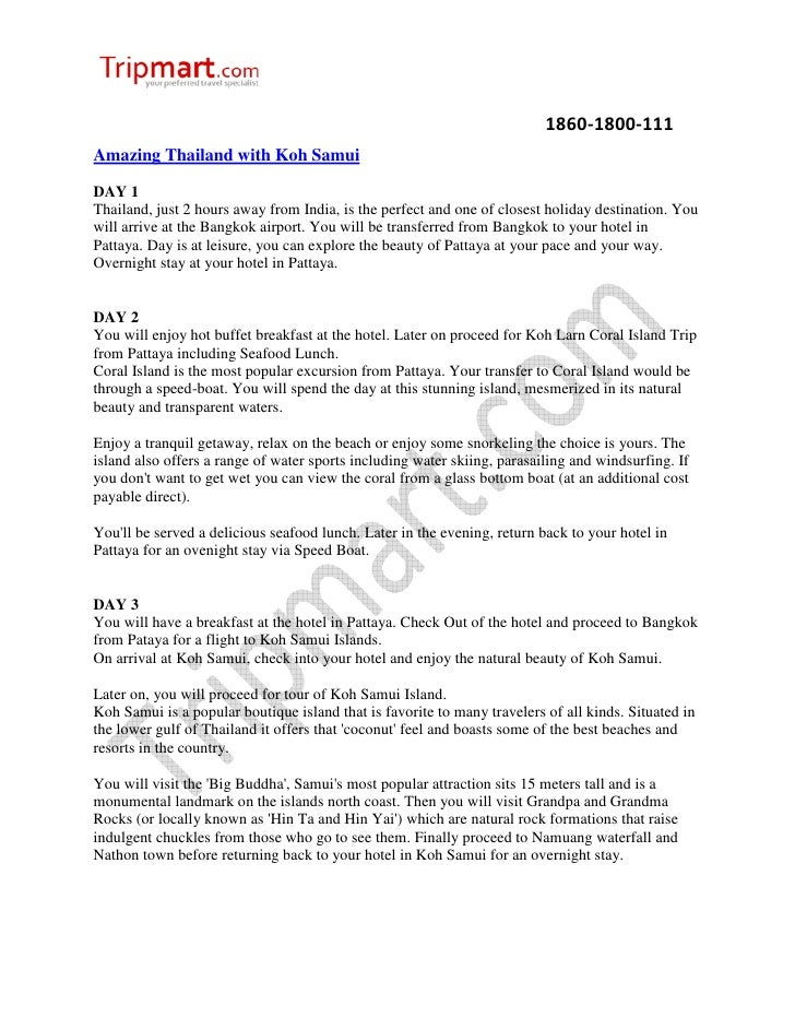 1860-1800-111Amazing Thailand with Koh SamuiDAY 1Thailand, just 2 hours away from India, is the perfect and one of closest...