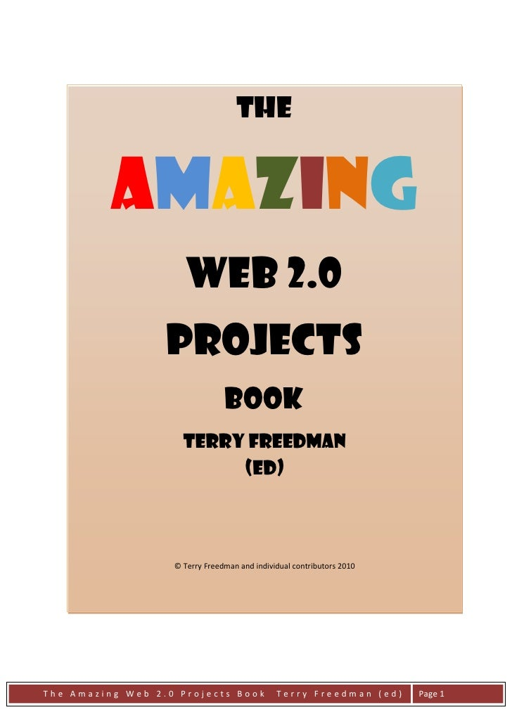 The             Amazing                       Web 2.0                   Projects                                 Book     ...