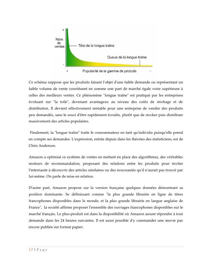 Ce schéma suppose que les produits faisant lobjet dune faible demande ou représentant unfaible volume de vente constituent...