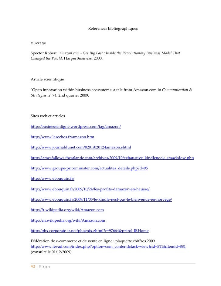 Références bibliographiquesOuvrageSpector Robert , amazon.com - Get Big Fast : Inside the Revolutionary Business Model Tha...