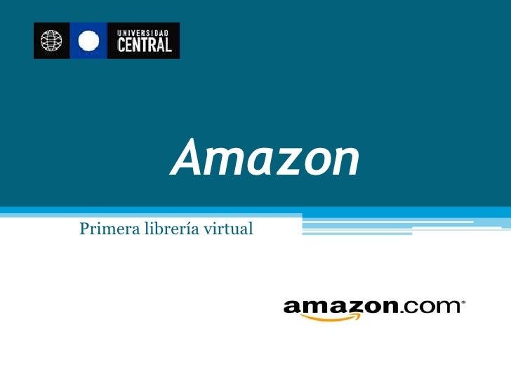 AmazonPrimera librería virtual