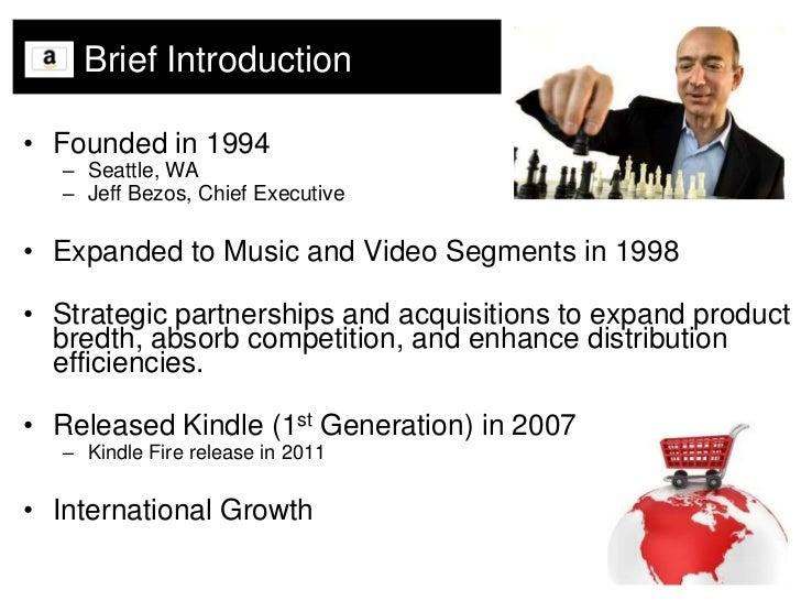 Amazon.com SWOT Analysis Slide 3