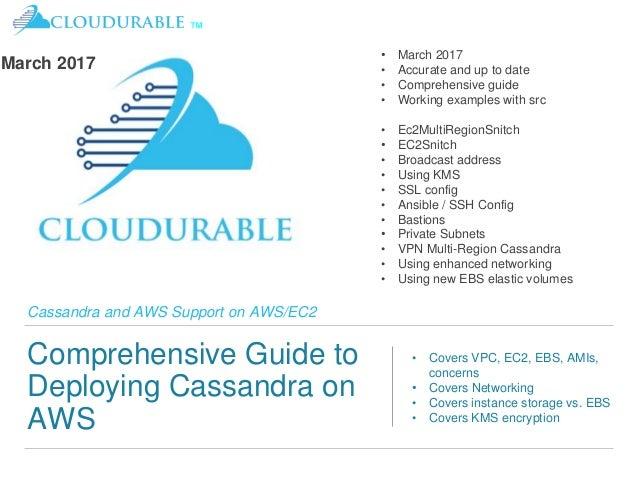 Amazon Cassandra Guidelines and Basics for AWS/EC2/VPC