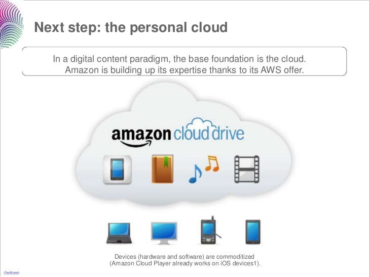 Next step: the personal cloud                In a digital content paradigm, the base foundation is the cloud.             ...