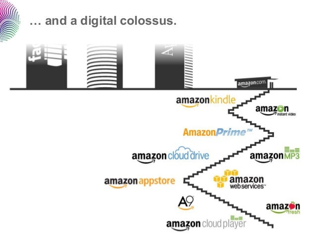 … and a digital colossus.