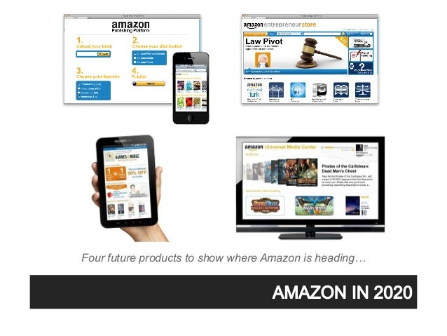 Four future products to show where Amazon is heading…