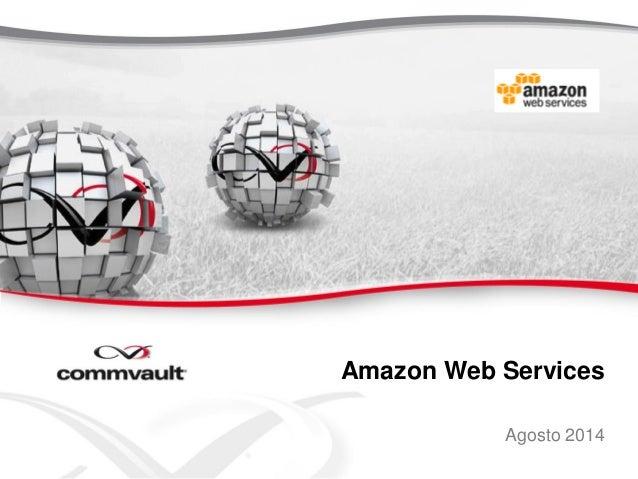 Amazon Web Services Agosto 2014