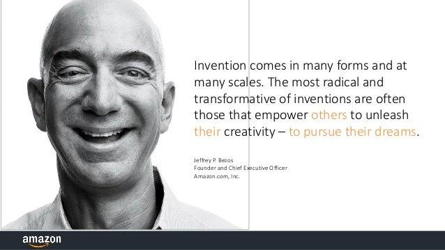Amazon Culture of Innovation Slide 2