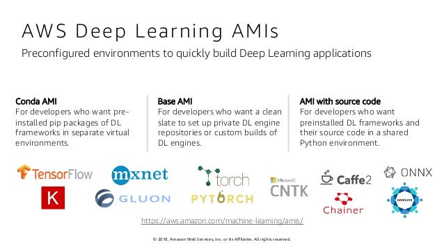 Simplify Machine Learning with the Deep Learning AMI | AWS