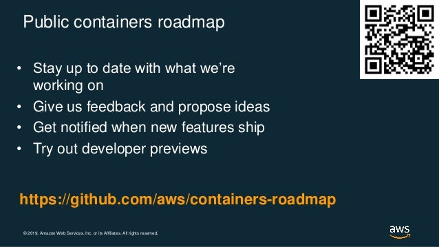 Amazon EKS Roadmap- AWS Container Day 2019 Barcelona