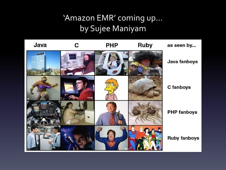 'Amazon EMR' coming up…by Sujee Maniyam<br />