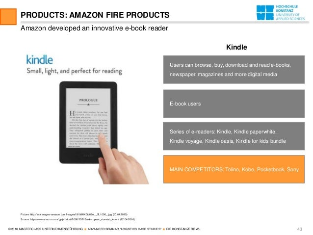 case sudy amazon Case studies from amazon, yahoo, and ryanair reveal how growth teams should use data + feedback in 2014, amazon attempted to break into the smartphone market with their fire phone amazon is usually known for their customer-first approach but this product was jeff bezos' baby: his opinion.