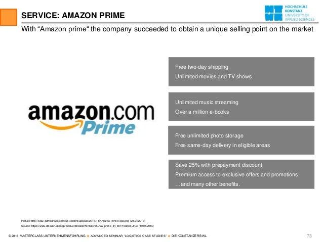 Case study on amazon - SlideShare