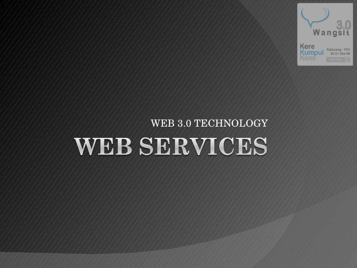 WEB 3.0 TECHNOLOGY