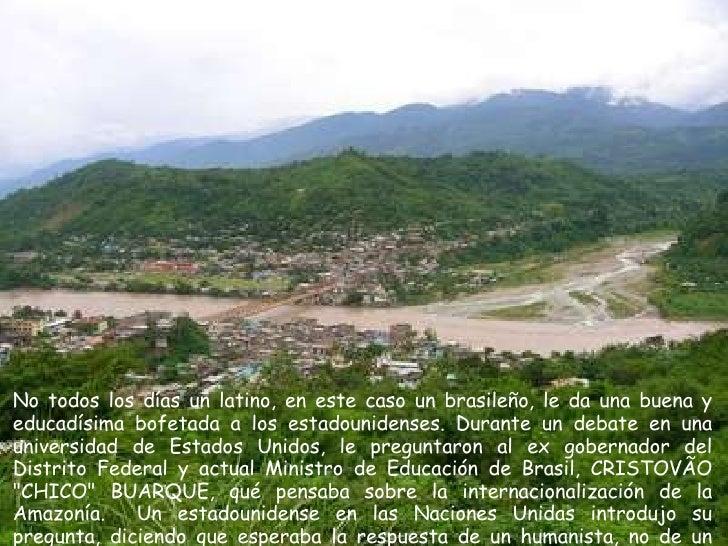 Amazonía Slide 2