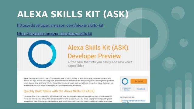 Amazon alexa Slide 3