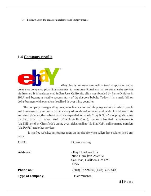 marketing excellence ebay Sepsnaponcom.