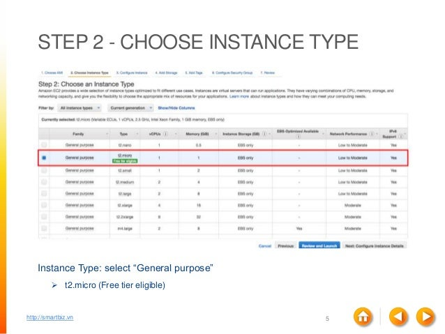 amazon free tier how many instances