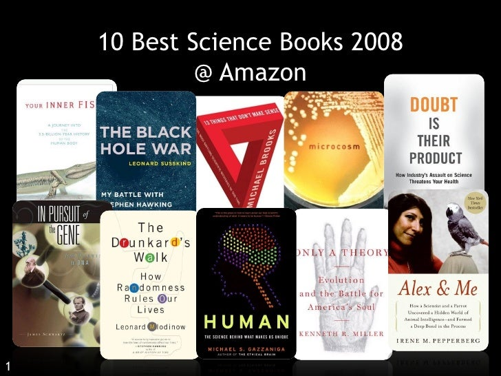 10 Best Science Books 2008              @ Amazon     1    Click Title to check availability at NTU Library   December 2008