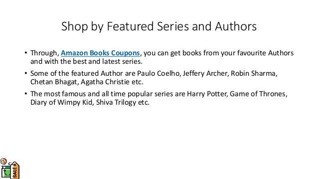 Amazon Books Coupons