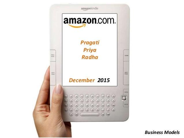 Pragati Priya Radha December 2015 Business Models