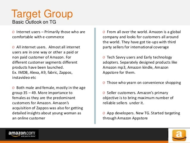of 64of 53 Consumer Insights (1/2) Insights that shaped Amazon.com Building Trust When Amazon started they found out that ...