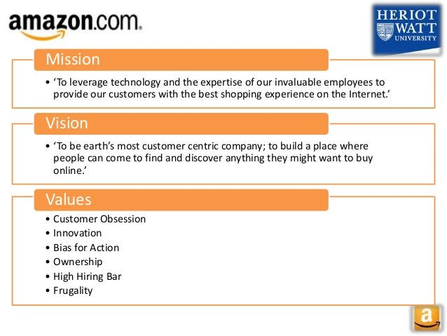 • 'To leverage technology and the expertise of our invaluable employees to provide our customers with the best shopping ex...