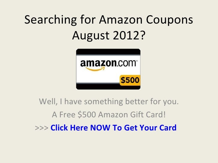 Amazon coupons august 2019